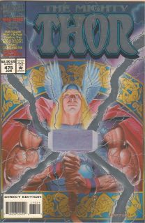 Iron Man Marvel Comics The Mighty Thor Issue 475