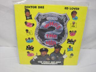 Laserdisc Whos The Man Rap Comedy Ed Lover Doctor Dre