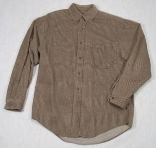 Eddie Bauer Mens Long Sleeve Dress Shirt Size S