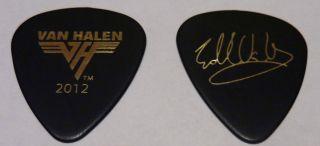 Eddie Van Halen RARE 2012 Official Tour Guitar Pick A Different Kind