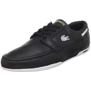Lacoste Dreyfus Mens Sport Casual Leather Boat Driving Shoes Sizes US9