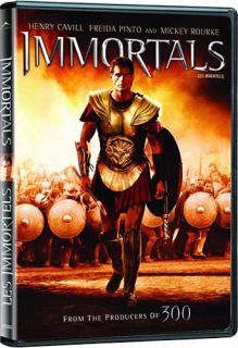 Immortals Mickey Rourke Canadian Release New DVD