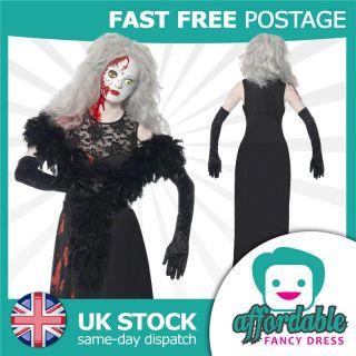 Deluxe Womens Actor New Living Dead Dolls Halloween Costume Fancy