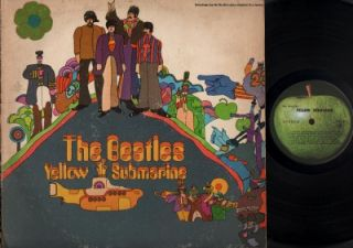 The Beatles Yellow Submarine Capitol USA 12 LP ELP730