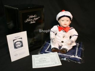 Vintage Ashton Drake Knowles China Porcelain Matthew Doll Picture