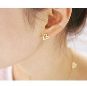 New Fashion Love Queen Ear Pin Stud Earrings