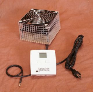 Incukit 4 Cabinet Egg Incubator Thermostat Fan Heater
