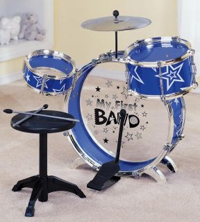 My First 8 Piece Drum Set New Kids Boys Toy Birthday Gift