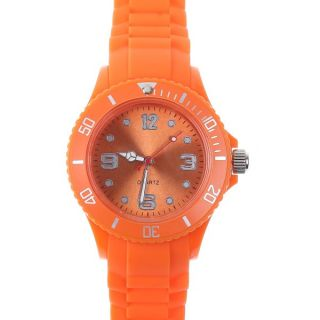 Classic Stylish Silicon Jelly Strap Unisex Gifts Wrist Watch 13 Colors