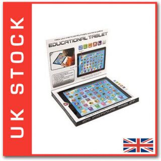 Educational Toy Tablet iPad Laptop Computer Toddler Child Kids