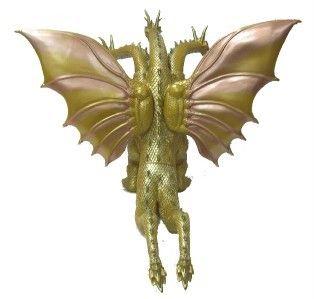 KING GHIDORAH VINYL FIGURE BOX Mothra 3 King Ghidorah Attacks