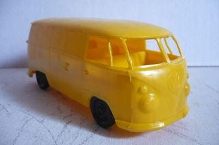 Mexican VW Combi Bus Volkswagen Plastic Toy Car Truck Made in Mexico