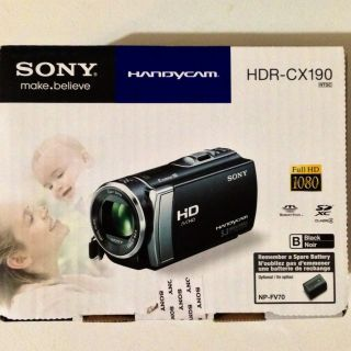 CX190 Full HD 1080p Dual Capture Zoom 2 7 LCD Camcorder Black