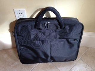 Dell Padded Laptop Bag Black Brand New 18x14x4 No Shoulder Strap