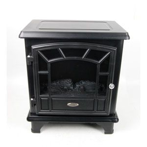 Twin Star Electric Fireplace Stove Heater CFS 550 1