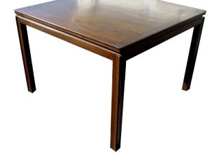 Pair Vintage Dunbar Edward Wormley Walnut Side Tables