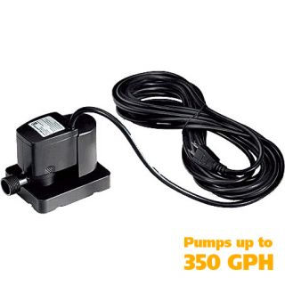 350 gph automatic electric submersible cover pump
