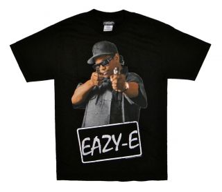 eazy e t shirt gun point tee men size small