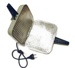Russian Electric Square Waffle Iron Maker EB 1 220 New