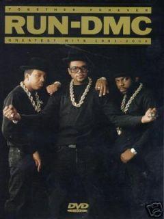 Run DMC Rev Run Jam Master J CD Shirt East Coast Rap
