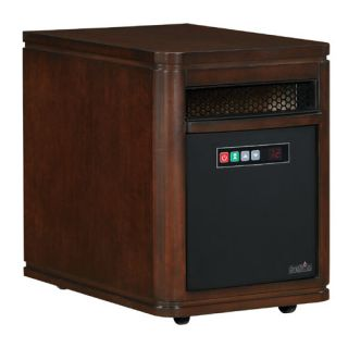 DURAFLAME Infared Quartz Electric Portable Heater Air Purifier