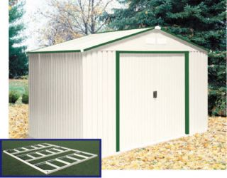 Yardline burlington 12 x 8 storage shed reviews