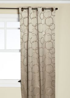 Eclipse Thermaback Meridian Blackout Grommet Window Panel Linen 42 x