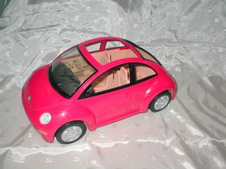 FISHER PRICE LOVING FAMILY DOLLHOUSE HTF PINK VW CAR VOLKSWAGON BEETLE