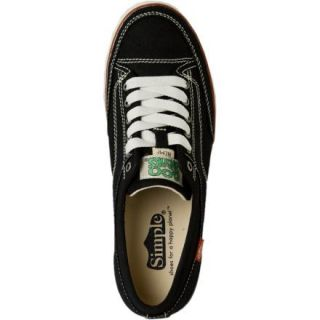 Simple Sno Tire Hemp Black Eco Sneakers Shoes Mens 10 New Recycled