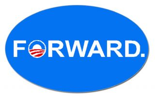Forward 2012 Presidential Election Car Decal Bumper Sticker