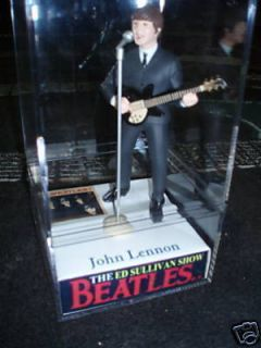 Ed Sullivan Beatle John Lennon figure figurine doll APPLE GEORGE