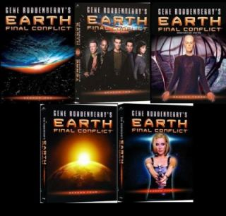 Earth Final Conflict Complete Season 1 2 3 4 5 DVD New