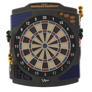 GLD Viper Eclipse Electronic Dart Board LED w 25 Games
