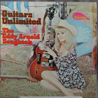 33 LP Record Guitars Unlimited Eddy Arnold Songbook