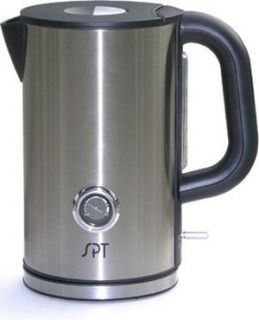 Stainless Steel Electric Kettle, Water Heater w/ Temp Display