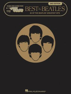 Best of The Beatles Easy Piano Sheet Music Song Book