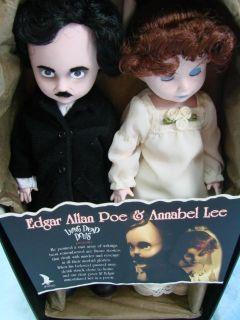Living Dead Dolls Edgar Allan Poe Annabel Lee Mint Condition