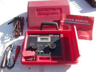 Snap On PDM MT500 METER TACH DWELL DUTY CYCLE VOLT OHM AMPMETER SHUNT