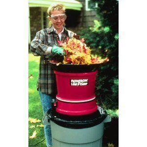 Mulcher Electric Leaf Leaves Shredder Garbage Trash Bag Yard Chipper