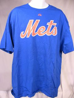 New York Mets T Shirt Dykstra 4 Blue 2XL MLB Tee