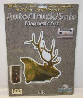 Rivers Edge Elk Auto Car Truck Safe File Cabinet Magnet