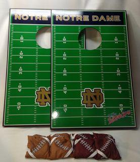 Notre Dame Football Cornhole Tailgate Toss Bean Bag Game