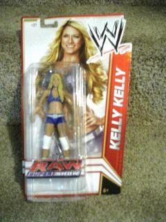 MATTEL SERIES RARE KELLY KELLY DIVA FIGURE MIP WCW WWF TNA ECW UFC ROH