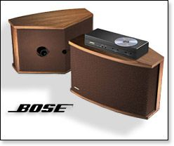 901 SERIES VI DIRECT REFLECTING SPEAKERS SYSTEM (+ Equalizer)   WALNUT