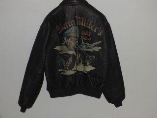 Avirex Leather Jacket Glenn Millers RARE A 2 Aviator Blouse Jacke XL