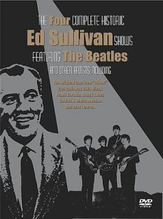 Beatles Ed Sullivan Presents The Beatles 4 Complete Shows DVD 2003