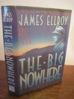 Mystery 1st Edition The Big Nowhere James Ellroy Crime