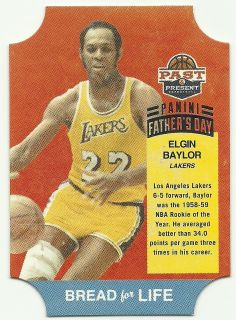 Past Present Fathers Day Bread for Life Elgin Baylor Lakers 1 1