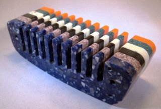 Custom Dupont™ Corian® Combs for Hohner Harmonicas