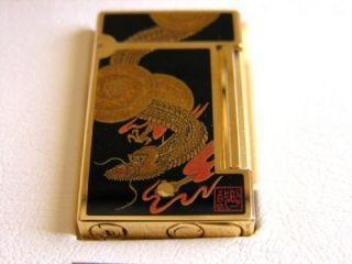 St Dupont Dragon Ryu Maki E Lighter RARE